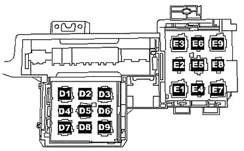 Relay Block (LHD)