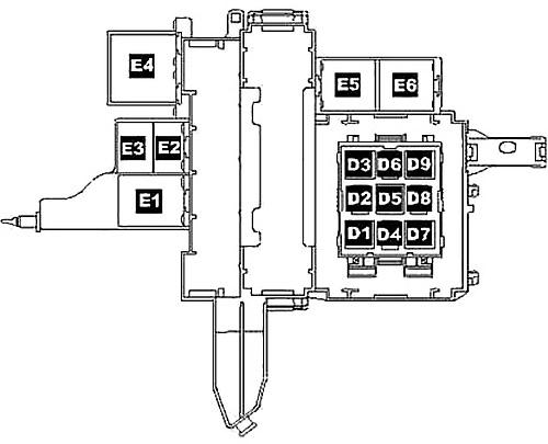 Relay Block (RHD)