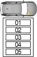 Блок предохранителей в моторном отсеке 1