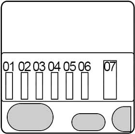 Блок предохранителей - незаменяемый (N55)