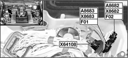 Патроны предохранителей (N63, S63, ActiveHybrid)