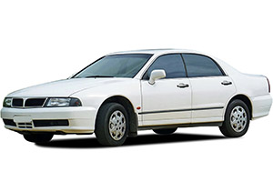 Mitsubishi Magna, Diamante, Verada (1996-2005)